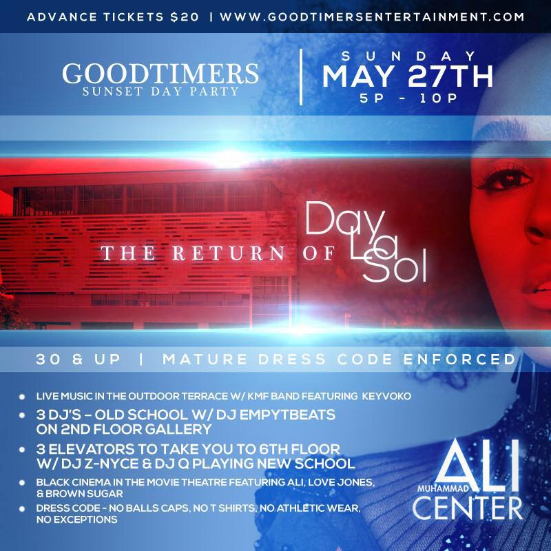 30 & over dayparty!! memorial day weekend – sunday may 27th